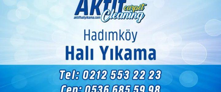 Hadımköy Halı Yıkama Fabrikası İstanbul